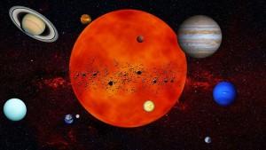 Sluneční soustava autor: 35393 zdroj: Pixabay.com